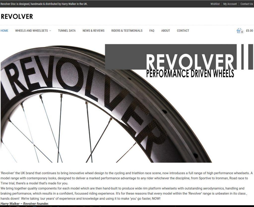 Revolver Wheels Website Development